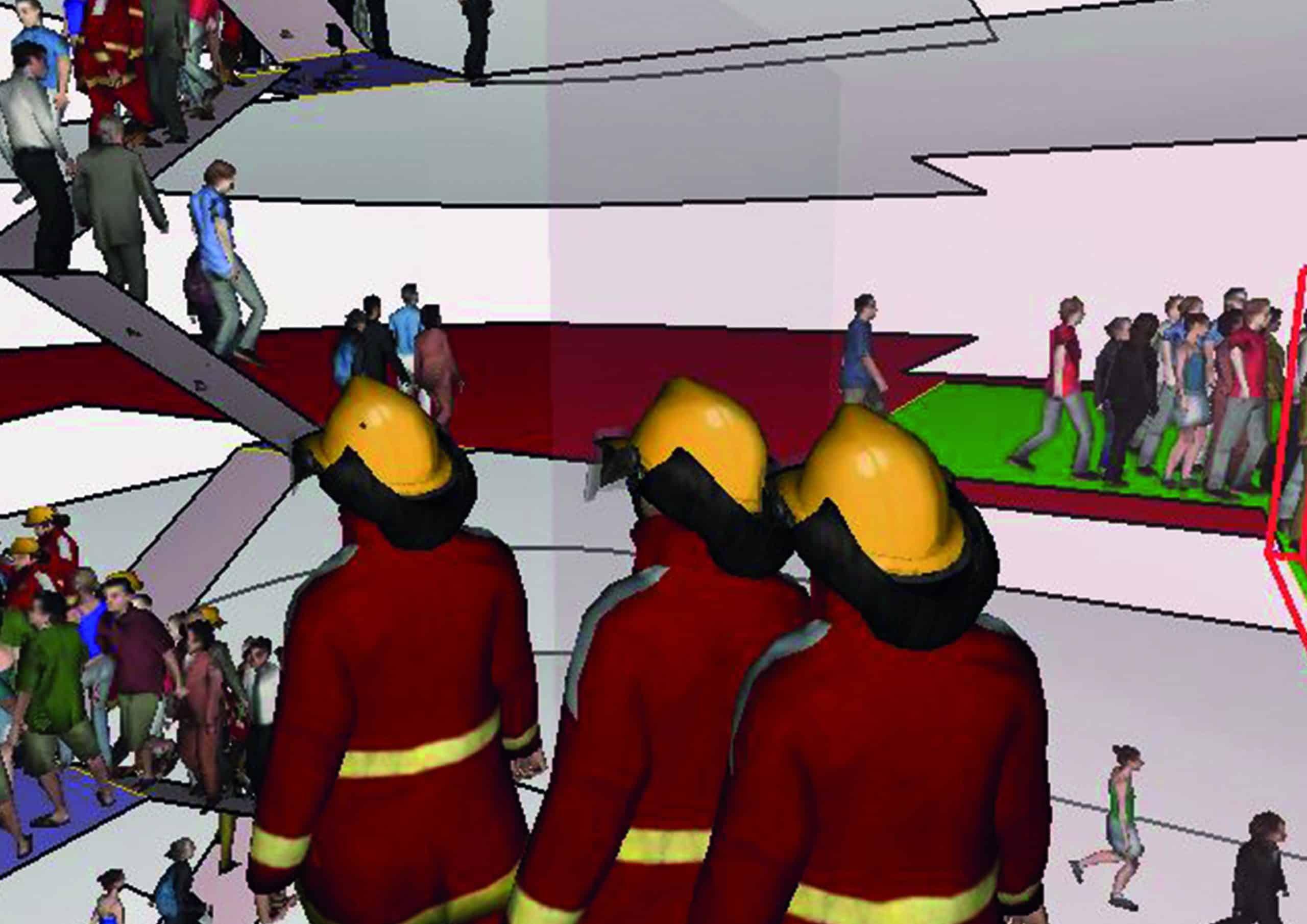 Intervento dei soccorritori dagli ascensori antincendio in attività soggetta