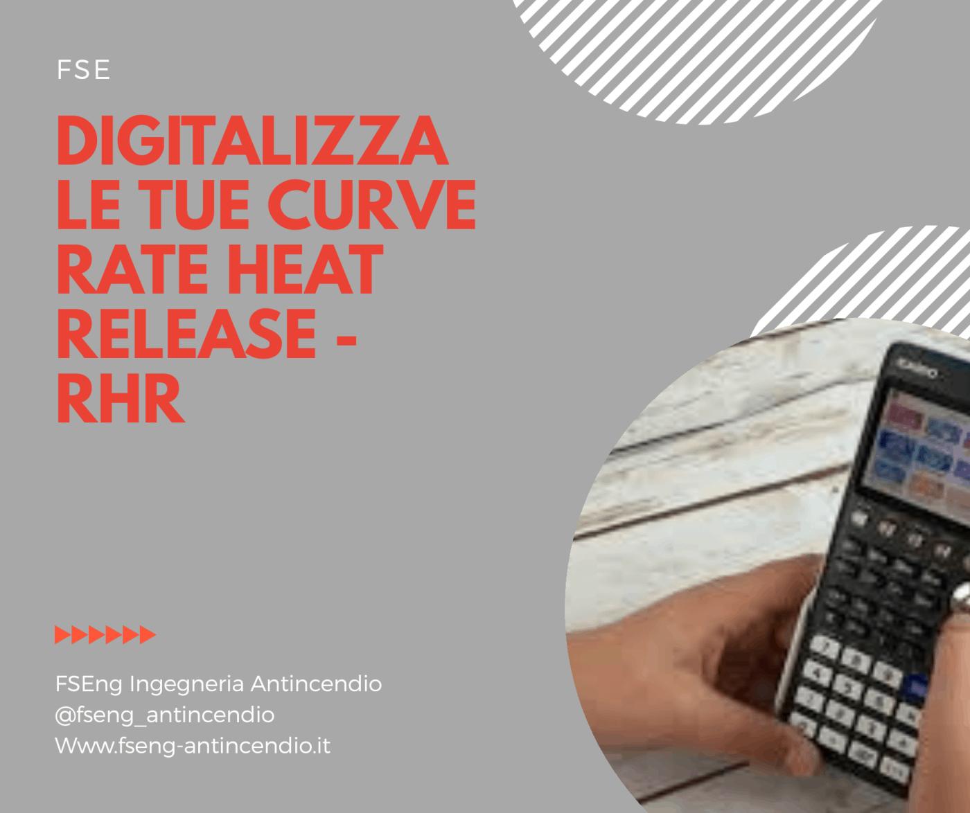 Calcolatrice di curva rete heat release rhr fse