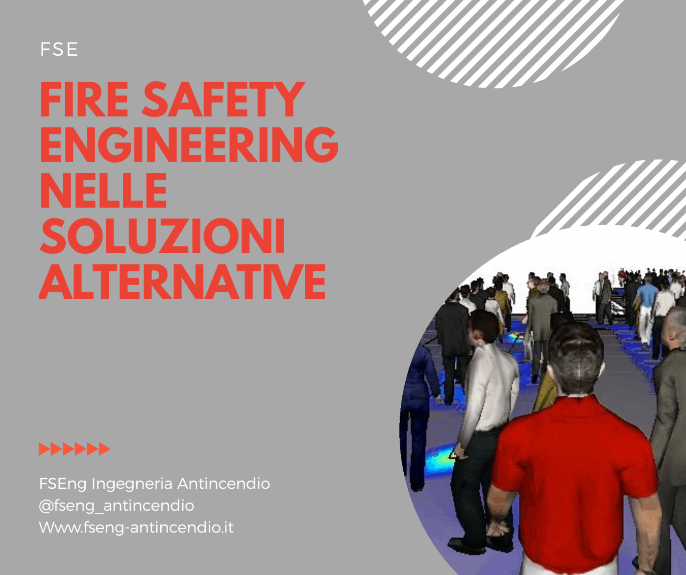 Soluzione alternativa in fire safety engineering FSE