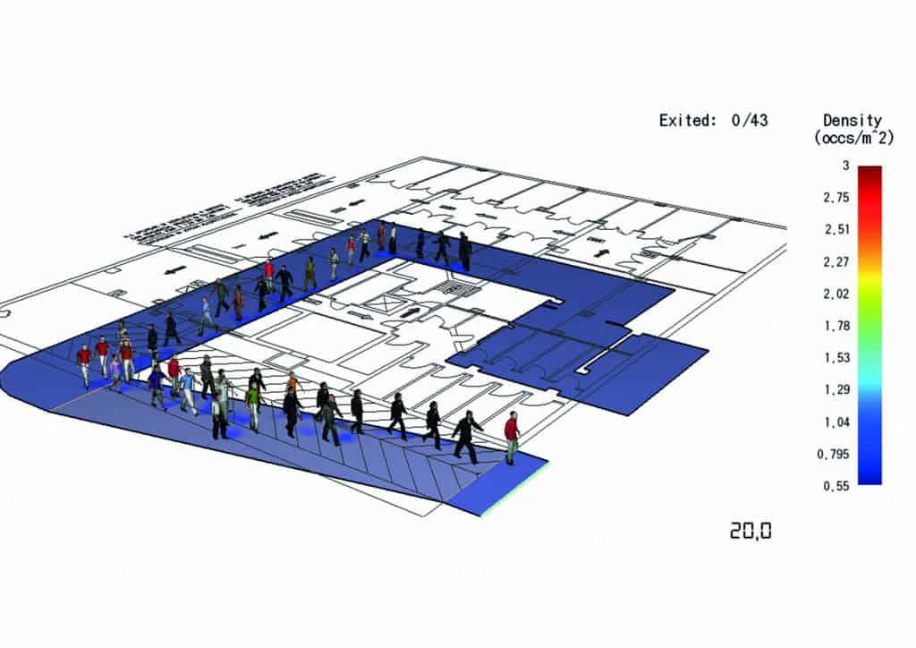Fire safety engineering in soluzione alternativa FSE per esodo autorimessa