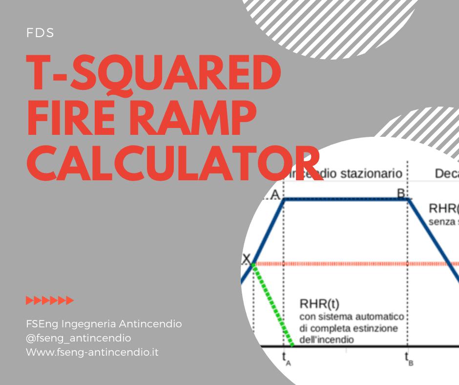 T-squared fire ramp calculator