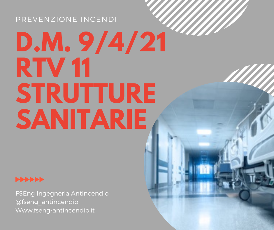 DM 09/04/2021 RTV 11 Strutture Sanitarie